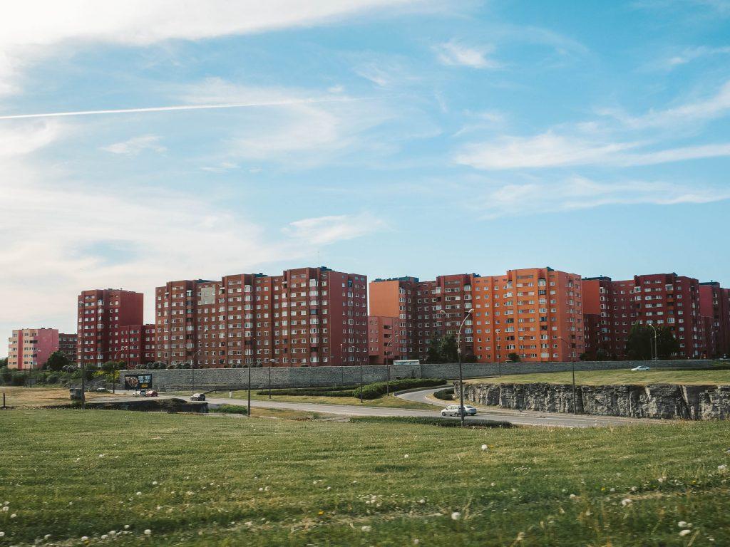 エストニア、団地、住宅