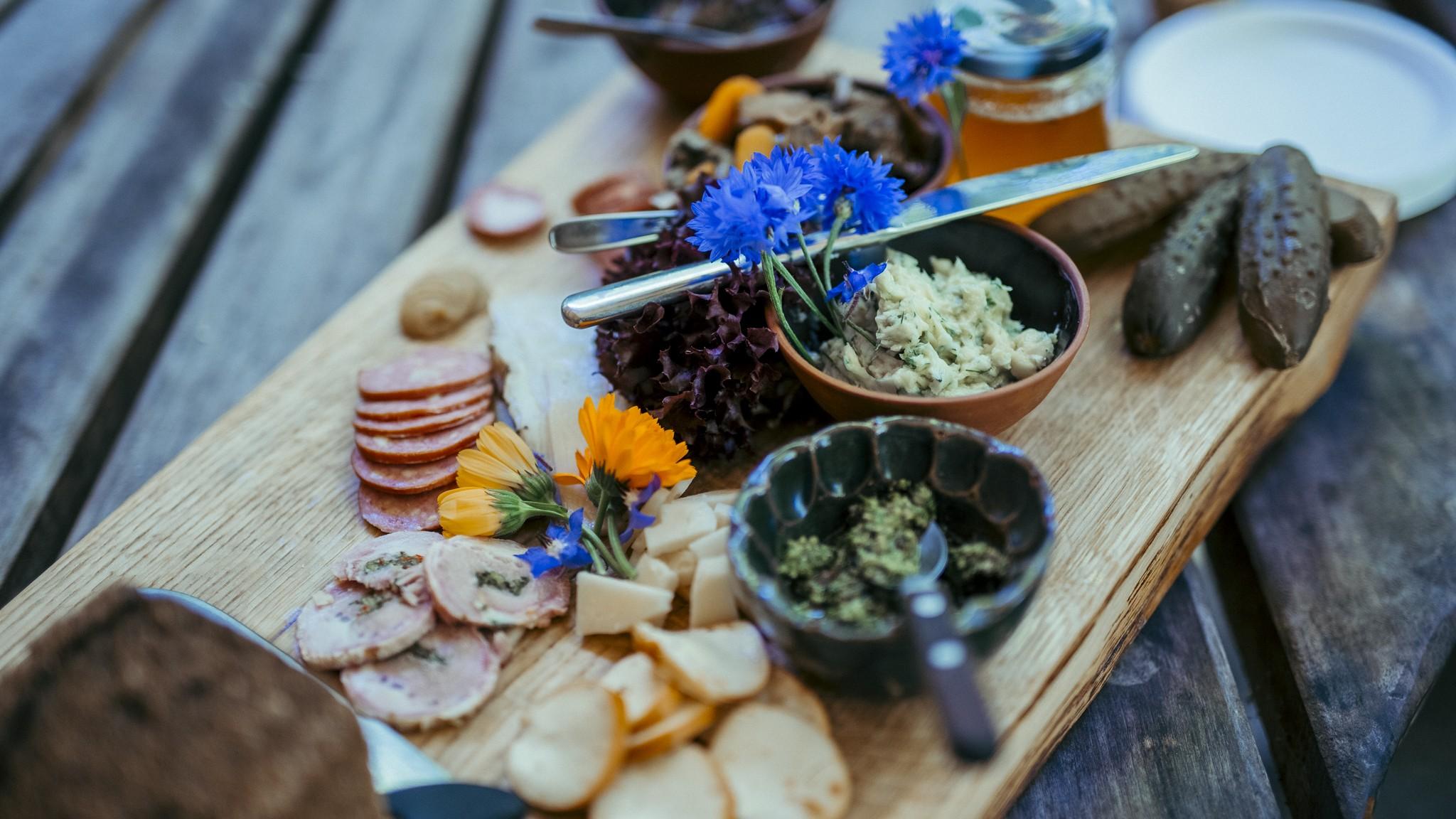 estonian food plate